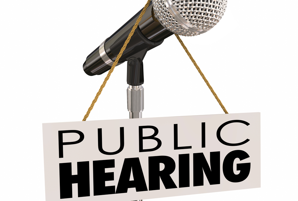 Public Hearing - Special Education