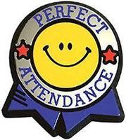 2019 - 2020 Primary School Perfect Attendance Students