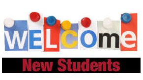 Welcome our new students!