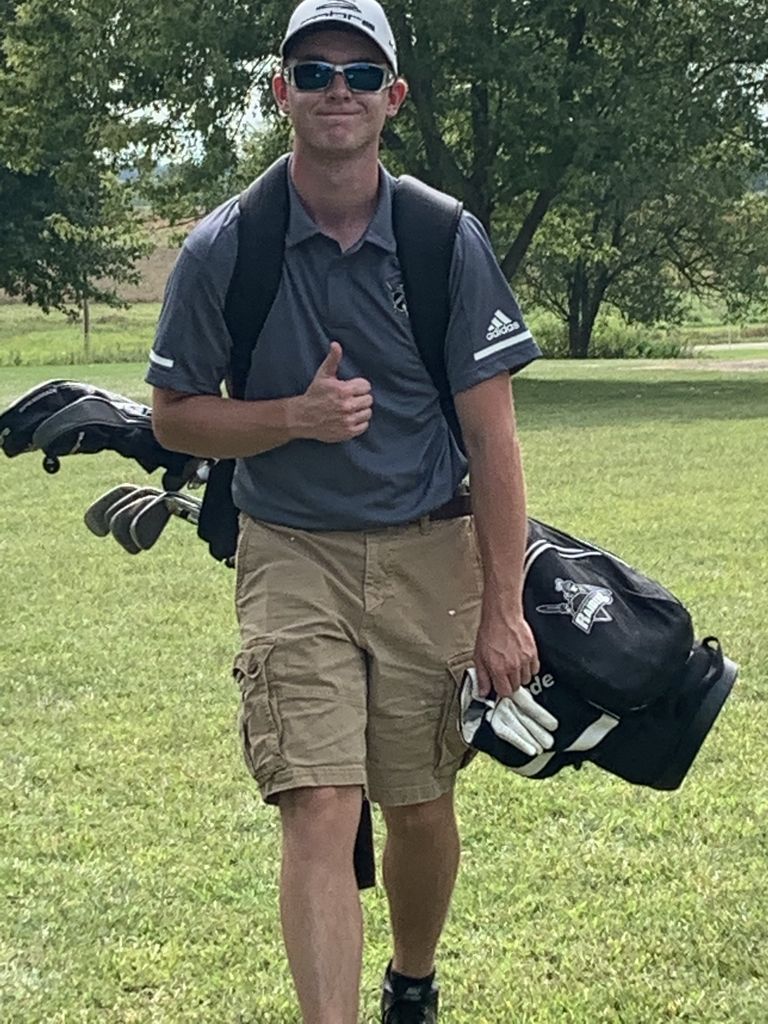 Braden Garman finishes 11th at Tomahawk Tournament on Monday.